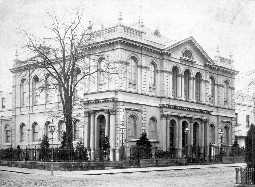 Dale Street Methodist Church, Leamington Spa.  1890s |  IMAGE LOCATION: (Warwickshire County Record Office)