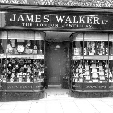 Leamington Spa.  James Walker Ltd., jewellers