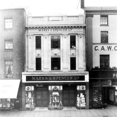 Leamington Spa.  Marks & Spencer Ltd.
