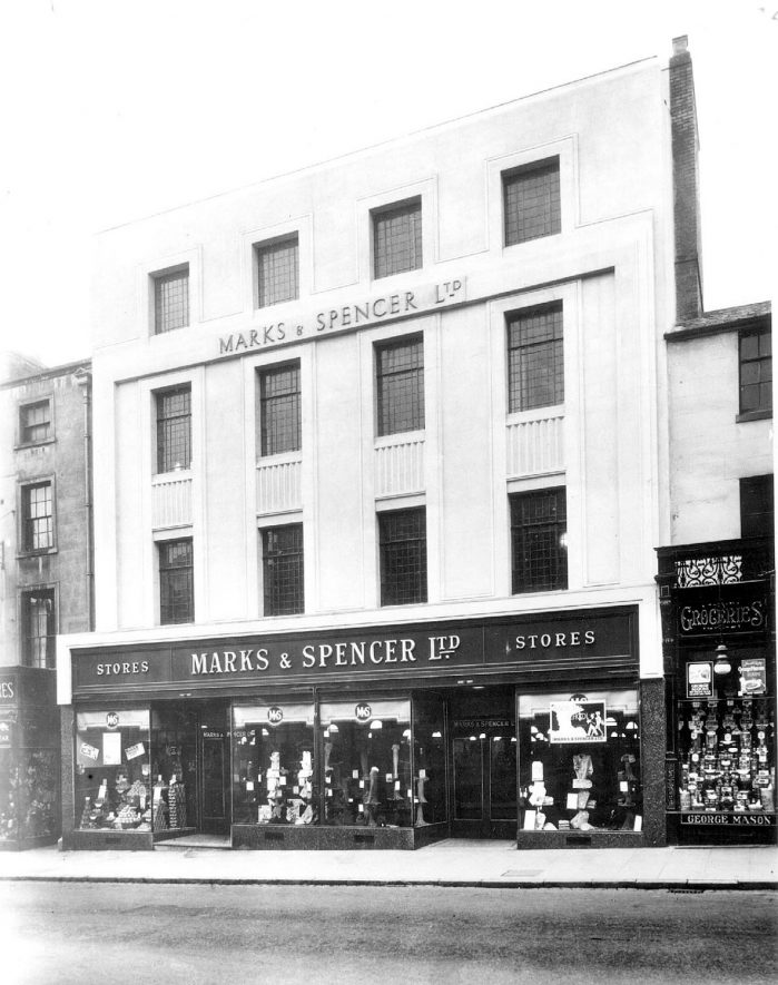 Marks & Spencer Ltd., 70-72, The Parade, Leamington Spa.  Late 1930s |  IMAGE LOCATION: (Warwickshire County Record Office)