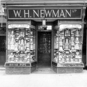 Leamington Spa.  W.H. Newman, tobacconist