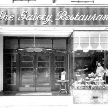 Leamington Spa.  Gaiety Restaurant