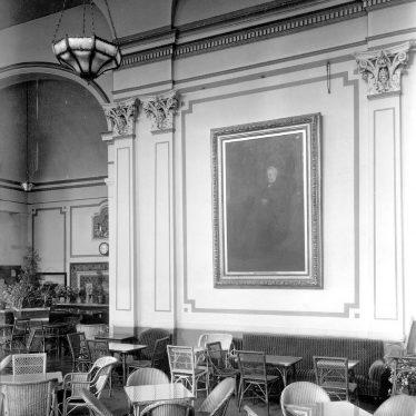 Leamington Spa.  Pump Rooms, interior