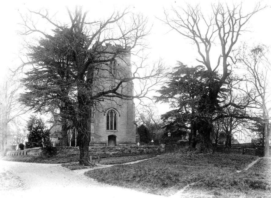 Whitnash Church.  1900s |  IMAGE LOCATION: (Warwickshire County Record Office)