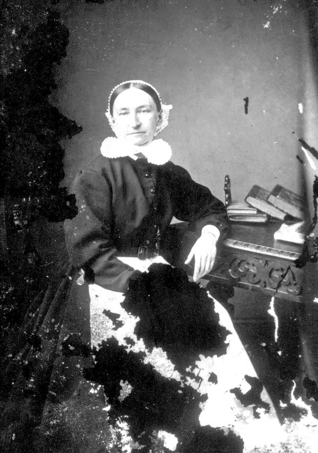 Portrait of a woman with the surname Margueralla.  1873 |  IMAGE LOCATION: (Warwickshire County Record Office) PEOPLE IN PHOTO: Margueralla as a surname