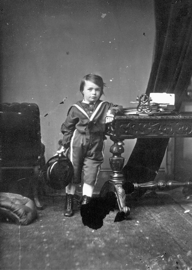 Portrait of a boy with the surname Harris.  1873 |  IMAGE LOCATION: (Warwickshire County Record Office) PEOPLE IN PHOTO: Harris as a surname