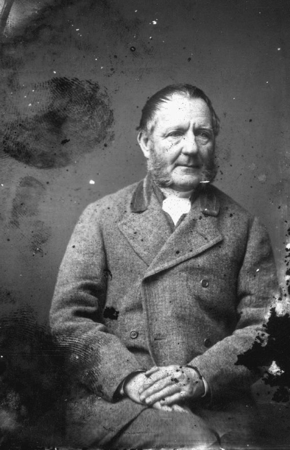 Portrait of a man with the surname Arkwright.  1874 |  PEOPLE IN PHOTO: Arkwright as a surname