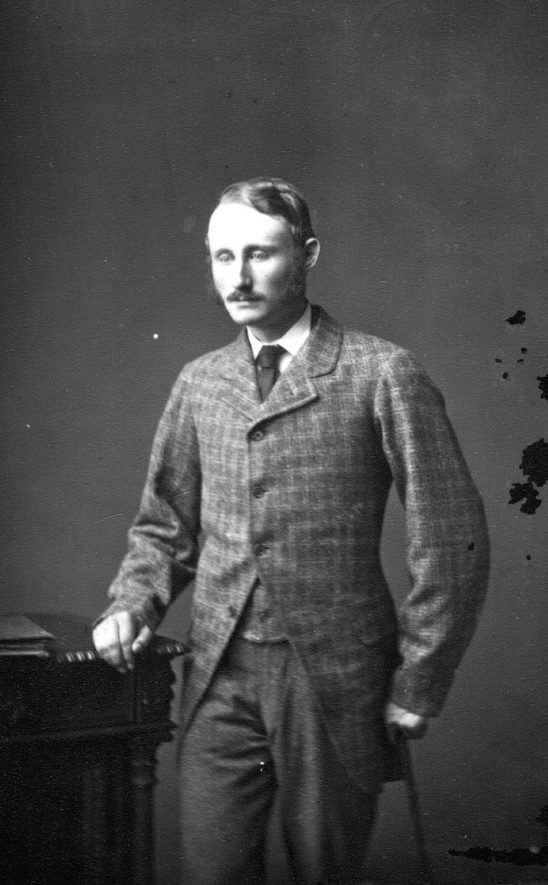 Portrait of a man with the surname Millington.  1876 |  IMAGE LOCATION: (Warwickshire County Record Office) PEOPLE IN PHOTO: Millington as a surname