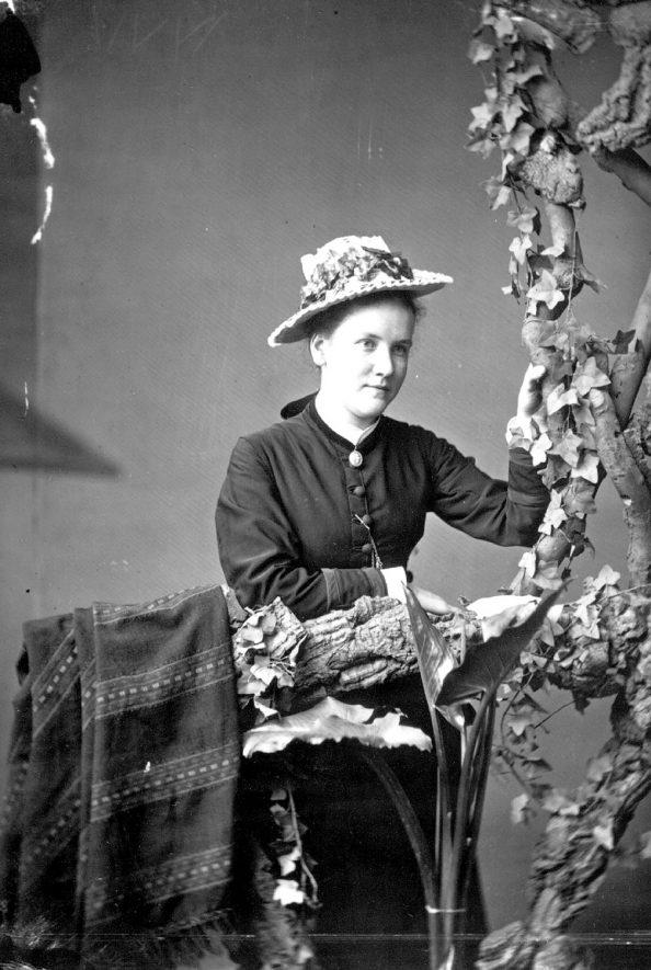 Portrait of B. Jones.  1877 |  IMAGE LOCATION: (Warwickshire County Record Office) PEOPLE IN PHOTO: Jones, B, Jones as a surname