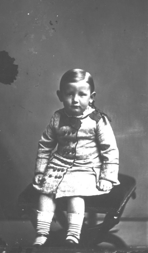 Portrait of a boy with the surname Greenway.  1877 |  IMAGE LOCATION: (Warwickshire County Record Office) PEOPLE IN PHOTO: Greenway as a surname
