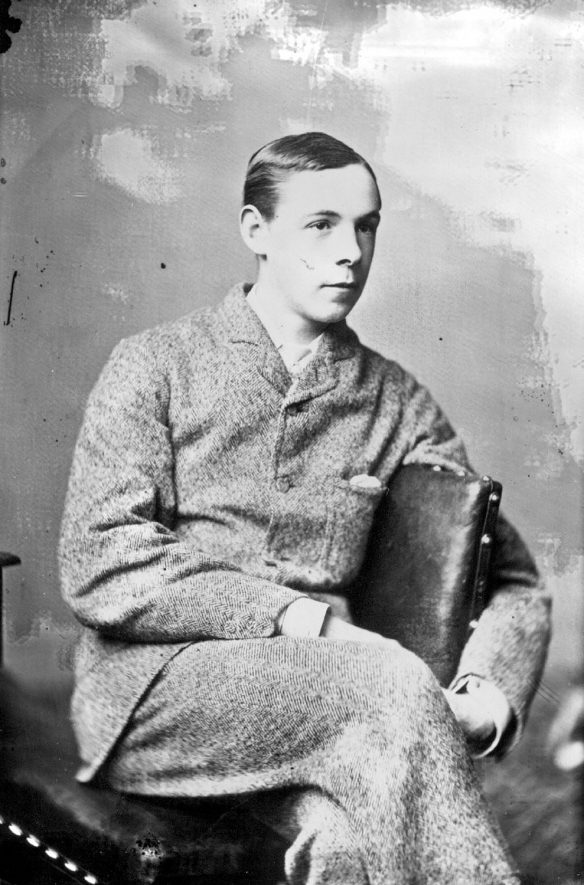 Portrait of a man with the surname Dell.  1879 |  IMAGE LOCATION: (Warwickshire County Record Office) PEOPLE IN PHOTO: Dell as a surname
