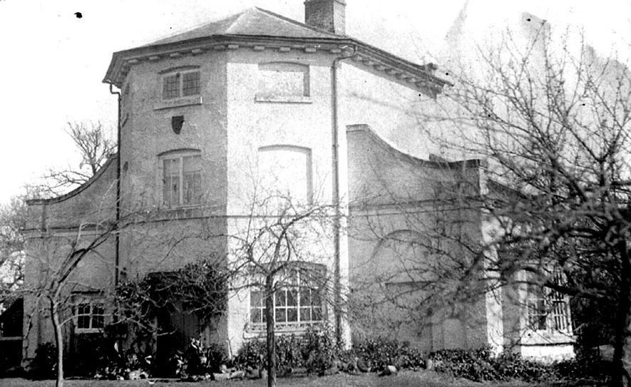 View of Kites Nest House, Beausale.  1900s |  IMAGE LOCATION: (Warwickshire County Record Office)