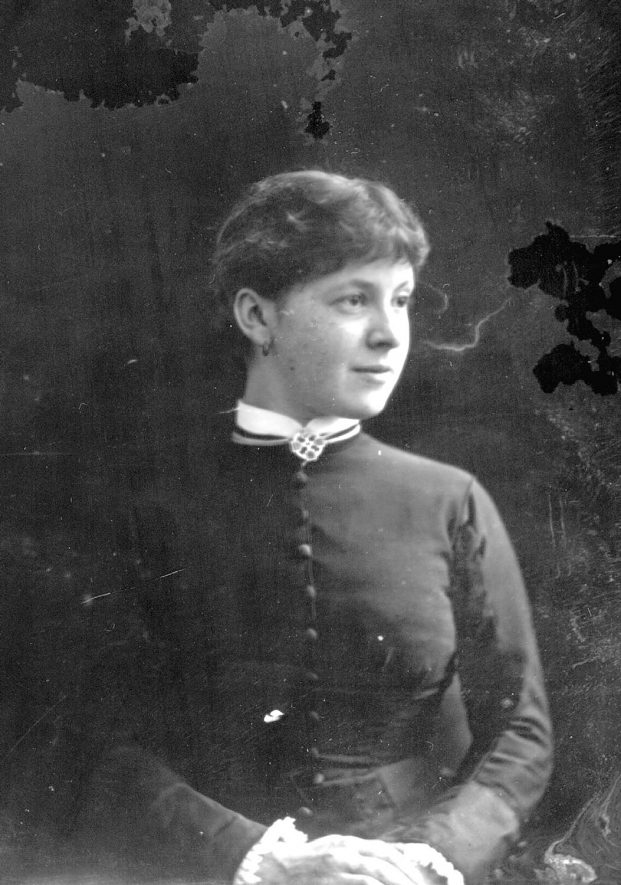 Portrait of a girl with the surname Waller.  1879 |  IMAGE LOCATION: (Warwickshire County Record Office) PEOPLE IN PHOTO: Waller as a surname