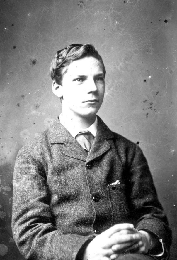 Portrait of a boy with the surname Maud.  1879 |  IMAGE LOCATION: (Warwickshire County Record Office) PEOPLE IN PHOTO: Maud as a surname