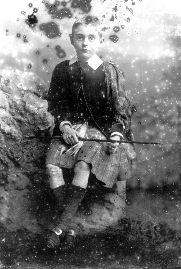 Portrait of a boy with the surname Johnstone.  1893 |  IMAGE LOCATION: (Warwickshire County Record Office) PEOPLE IN PHOTO: Johnstone as a surname