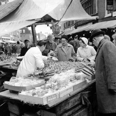 Nuneaton.  Market Day