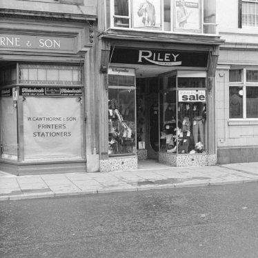 Nuneaton.  Market Place, Riley's Outfitters