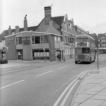 Nuneaton.  Bus Station
