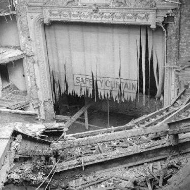 Nuneaton.  Demolition of the Old Hippodrome Theatre