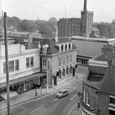 Nuneaton.  Newdegate Street and flour mill