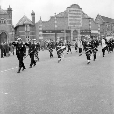 Nuneaton.  Civic Sunday Parade