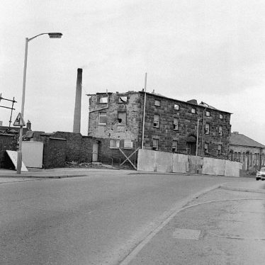Nuneaton.  Demolition of the old workhouse