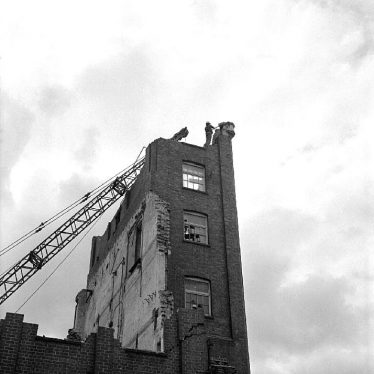 Nuneaton.  Demolition of flour mills