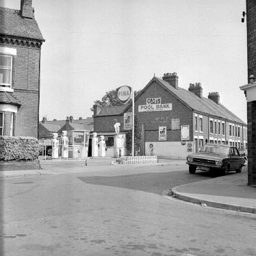Nuneaton.  Pool Bank service station