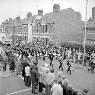 Nuneaton.  Jubilee carnival procession