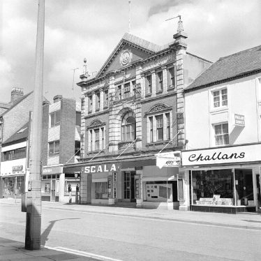 Nuneaton.  Abbey Street, closed Scala Cinema