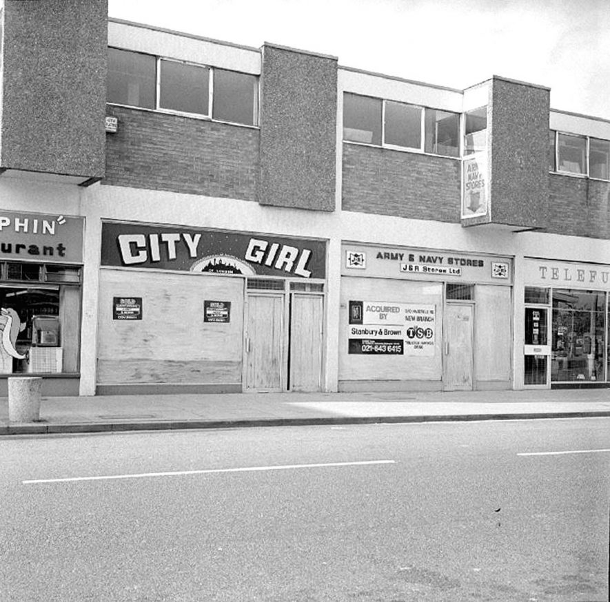 Site of Trustee Savings Bank, due to move from Abbey Road, Harefield Road, Nuneaton.  24 September 1978 |  IMAGE LOCATION: (Warwickshire County Record Office)