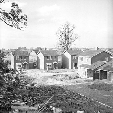 Nuneaton.  House building on Wolvey Grange estate
