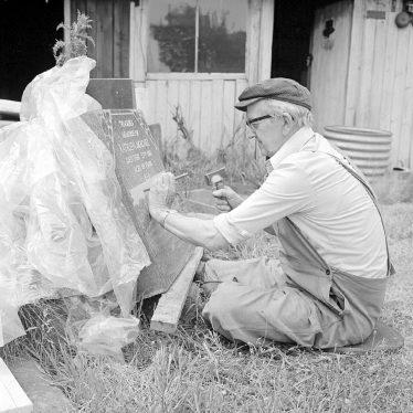 Nuneaton.  Ernest Pitcher, stonemason