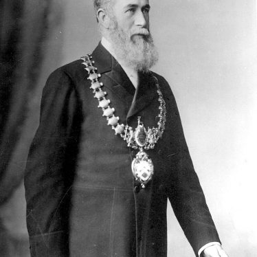 Leamington Spa.  Alderman William Davis, Mayor of Leamington