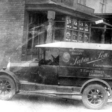 Leamington Spa.  Farley Street, Sabin's Bakery