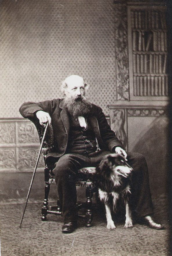 Mr A Campbell, seconder of proposition to adopt Public Libraries Act in Leamington Spa.  1856 |  IMAGE LOCATION: (Leamington Library) PEOPLE IN PHOTO: Campbell as surname, Campbell, Mr A