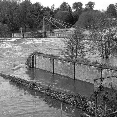 Leamington Spa.  Floods