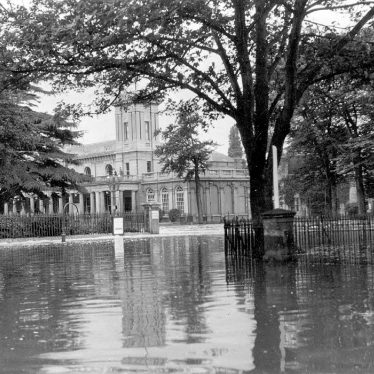 Leamington Spa.  Floods