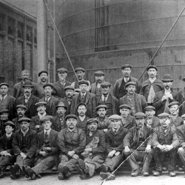 Leamington Spa.  Gas Company Works workers