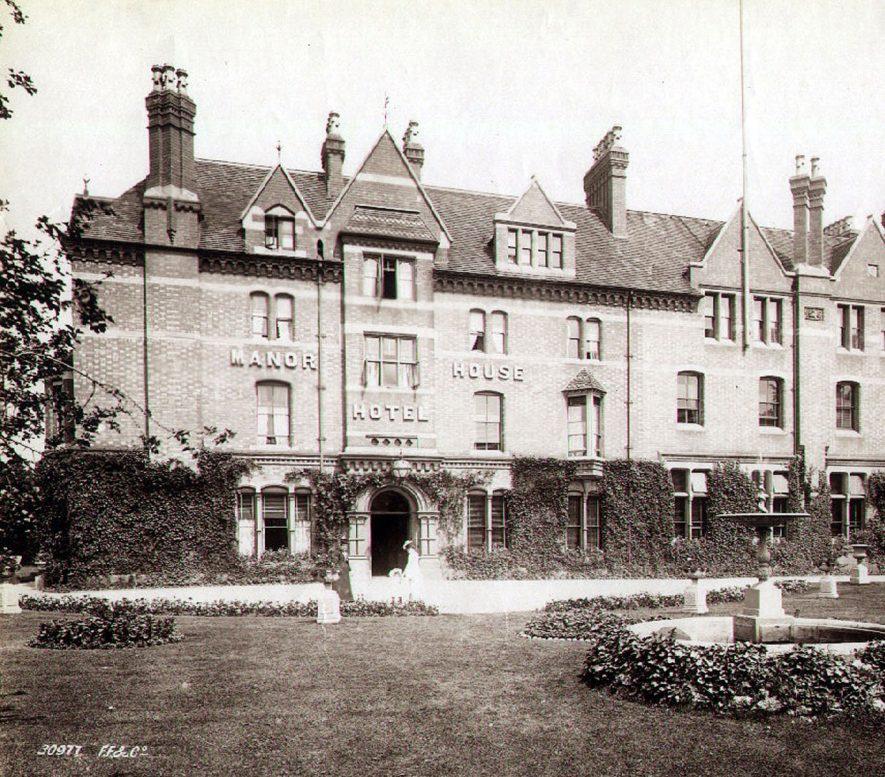 Manor House Hotel, Leamington Spa.  1920s |  IMAGE LOCATION: (Leamington Library)