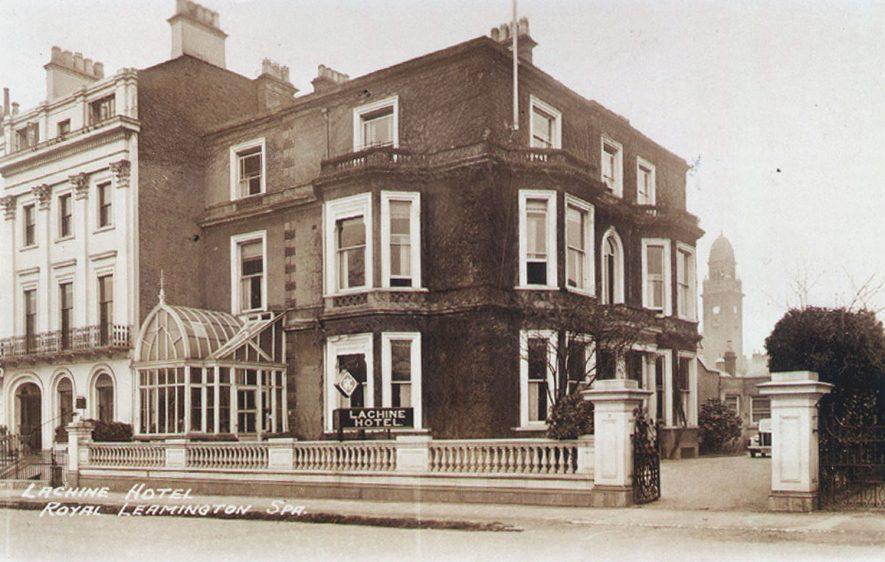 Lachine Hotel, Newbold Terrace, Leamington Spa.  1950s |  IMAGE LOCATION: (Leamington Library)