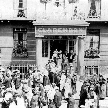 Leamington Spa.  Clarendon Hotel