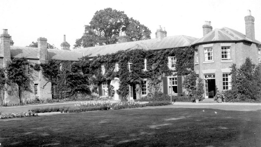 Harbury Hall, Harbury.  1928 |  IMAGE LOCATION: (Leamington Library)