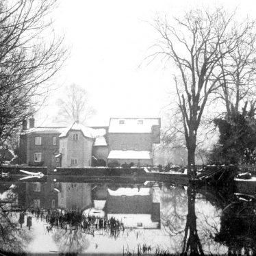 Eathorpe.  Mill and Mill House