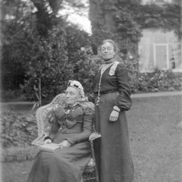 Leamington Spa.  Miss Mary Dormer Harris and her Mother