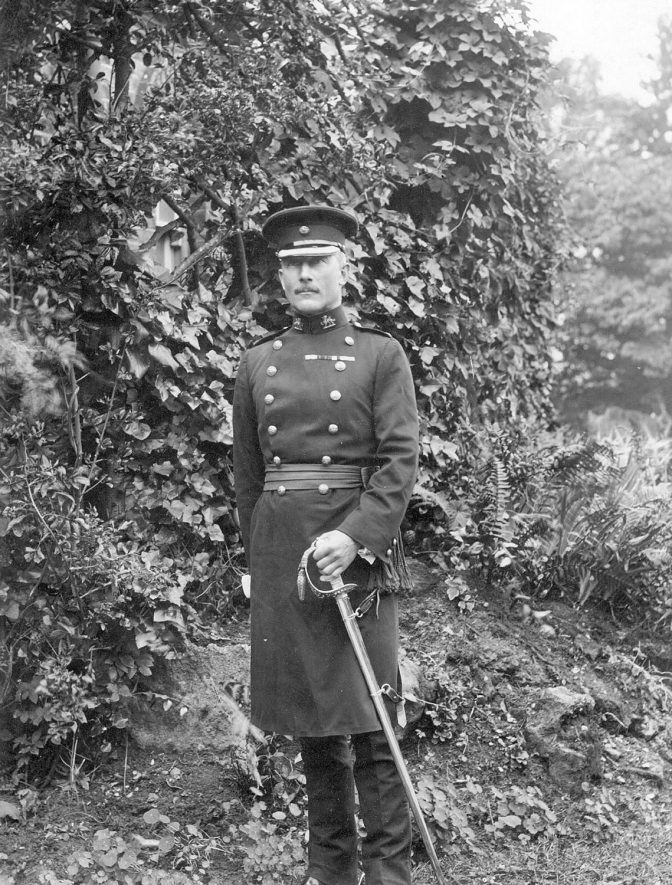 Lieutenant G.H.W. Southey, chairman of the Leamington public library, art gallery and museum committee.  1925/6. |  IMAGE LOCATION: (Leamington Library) PEOPLE IN PHOTO: Southey, Lieutenant G H W