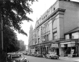 The Regent Cinema, showing 'A Kind of Loving' starring Alan Bates in the early 1960s |  IMAGE LOCATION: (Leamington Library)