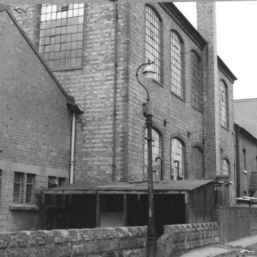 Bedworth.  Ribbon weaving factory