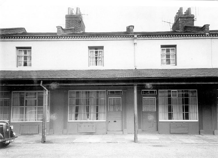 Covent Garden Market, taken just prior to its demolition in 1958. |  IMAGE LOCATION: (Leamington Library)