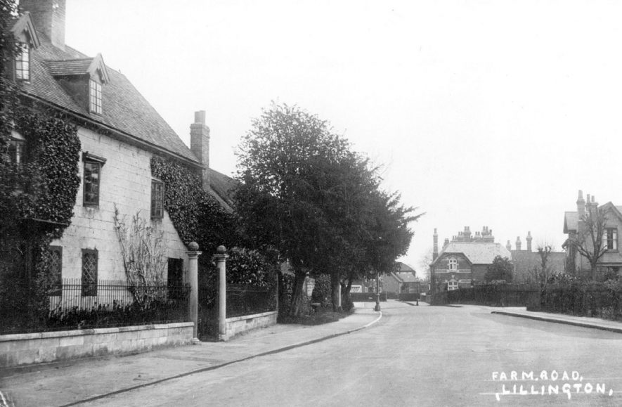 Farm Road, Lillington.  1930s    IMAGE LOCATION: (Leamington Library)